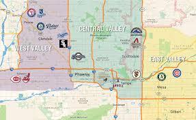 mileage map cactus league map and golf directory colorado avidgolfer