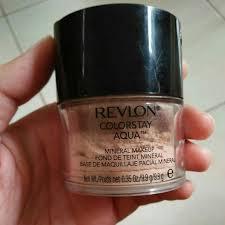 Bedak Revlon Colorstay colorstay aqua mineral makeup makeup
