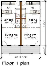 multi family plan 72793 at familyhomeplans com