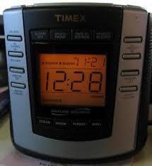 clock radio with night light timex am fm alarm clock radio t300t night light ebay