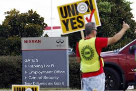 nissan workers reject united auto workers in mississippi 710