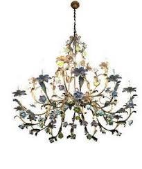 porcelain chandelier roses porcelain chandelier ebay