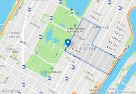 The Warren Floor Plan by 927 Fifth Ave In Upper East Side Sales Rentals Floorplans