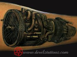 turbo and piston tattoo diesel engine tattoos pictures to pin on pinterest tattooskid