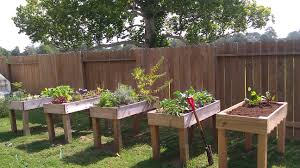 garden beds raised off the ground home outdoor decoration