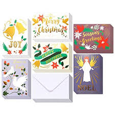 bulk christmas cards 48 pack merry christmas greeting cards bulk box set