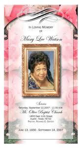 memorial booklet funeral programs