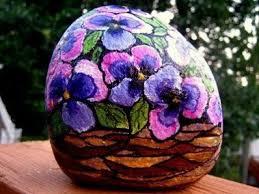 106 best painted rocks flowers images on pinterest rock