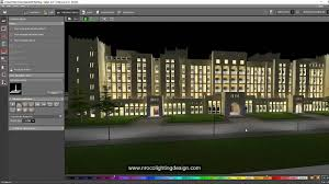 Home Lighting Design Calculations by Facade And Road Lighting Calculations Combined Youtube