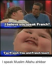 Maury Memes - i believe you speak french maury of 2006 yes french fries and
