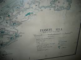 fraser u0027s hill map 1954 at wavertree bungalow silverpark