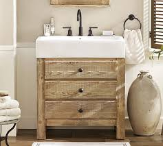 single sink console vanity mason reclaimed wood single sink console wax pine finish single