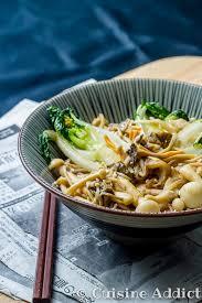 cuisine adict poêlée japonaise pak choï chignons soba cuisine addict