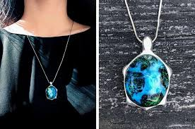wood pendants necklace images Enchanting turtle jewelry made of resin offers ever changing shells jpg
