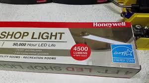 hyper tough led shop light harbor freight hack a sam s club led shop light honeywell samsclub
