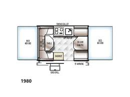 Rockwood Camper Floor Plans 2017 Forest River Rockwood Tent Camper Freedom 1980 Murray Ut