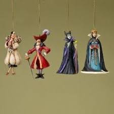 disney villains ornament set things