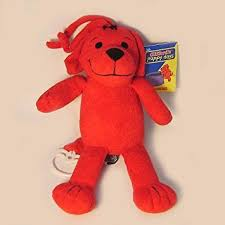 amazon com clifford the big red dog plush musical crib toy by