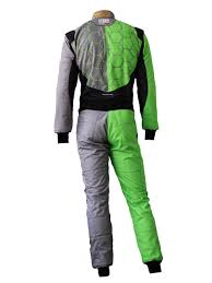 lamborghini clothing green black one art recing omp professional racing suit by