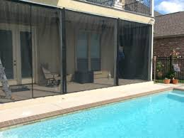 Retractable Curtains How To Screen In A Patio Luxury Patio Chairs For Patio Door
