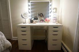 Mirrored Desk Vanity Furniture Mirrored Desk Target Makeup Table Walmart Vanity