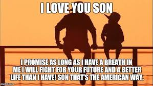 Son And Dad Meme - cowboy father and son imgflip