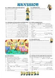 english worksheets quantity and quantifiers worksheets page 13