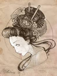 cool zone japanese geisha designs gallery tattoomagz