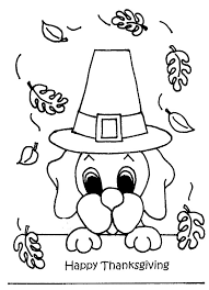 coloring pages for thanksgiving day happy thanksgiving
