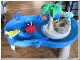 Water Table For Kids Step 2 Win Step2 Tropical Island Resort Water Table Review Giveaway