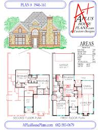 Two Story Floor Plans house plan 1946 161 traditional stone front elevation 1946