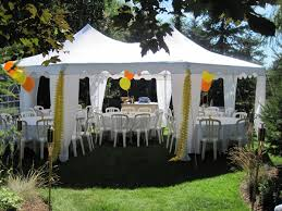 rent a party tent backyard rent a tent for backyard party backyards
