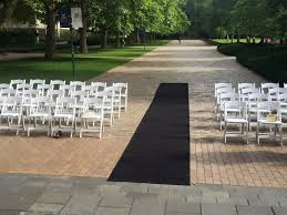 black aisle runner hire carpet runner black wedding hire melbourne events