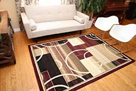 Circle Area Rug Generations Brand New Contemporary Modern Square And