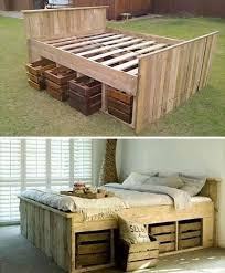 Making A Pallet Bed Got Pallets These 17 Diy Pallet Ideas Are Clever