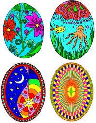 paper easter eggs ursi s