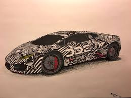 lamborghini drawing mikes schetches on twitter