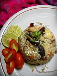 membuat nasi goreng cur telur fiza s cooking nasi goreng telur masin yummy pinterest nasi