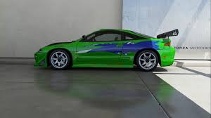 mitsubishi eclipse fast and furious forza motorsport 6 1995 mitsubishi eclipse gs fast furious