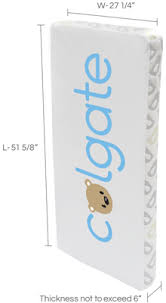 What Is Standard Crib Mattress Size What Is The Standard Crib Mattress Size Colgate Mattress