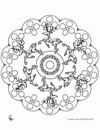 christmas mandala coloring pages malvorlagen
