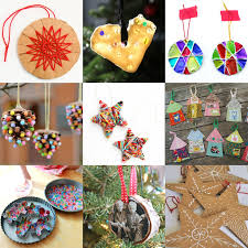 Making Christmas Ornaments - 25 homemade christmas ornaments the whole family can make