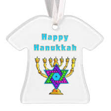 happy hanukkah ornaments keepsake ornaments zazzle