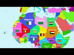 map with names of countries in africa the countries of the world song africa