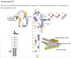 atlanta international airport map lounge review the at atl travelupdate