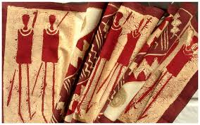 Kwanzaa Decorations It Takes A Village African Fabrics Sadza Batik For Your