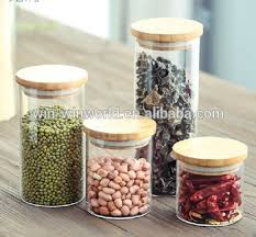 glass canister sets for kitchen airtight kitchen borosilicate glass storage canister sets with