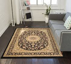 Free Area Rugs Sultan Medallion Black Area Rug Floral