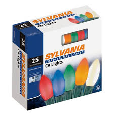 lights sylvania 25 ceramic c9 lights