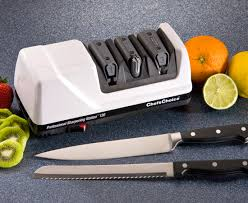 sharpening kitchen knives chef u0027schoice model 130 professional sharpening station